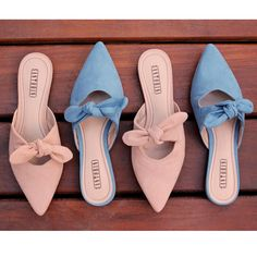 If somebody steps on your shoes and ruins them, don't freak out. get a new pair of shoes. there's nothing you can do to change it. just move on . Mules Shoes, Shoes Sandals, Flat Shoes, Accessorize Shoes, Trendy Sandals, Pretty Shoes, Dream Shoes, Summer Shoes, Girls Shoes