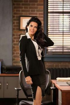 Angie Harmon the sexy librarian ha ha