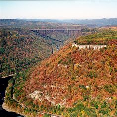 Walk Across the New River Gorge Bridge - 10 Must-Take Fall Trips - Southernliving. With the help of an experienced guide, families can walk across this 3,030-foot bridge. Be sure to pause and take in the breathtaking views of Fayetteville, West Virginia. But be warned: this one isn't for anyone who's scared of heights. You'll see all those deep reds and bright yellows from more than 875 feet over the New River.