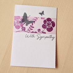 With Sympathy Card | Small T Creations