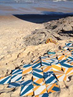 nas areias bahianas