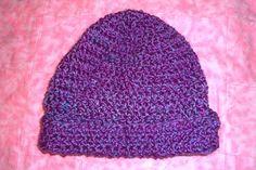Easy crochet pattern - hat