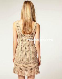 Оригинальное платье от Karen Millen - Crochet Modnoe Vyazanie