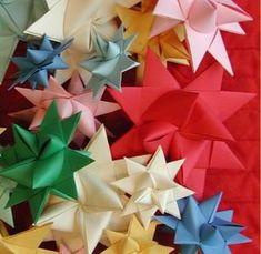 3D Paper Stars {tutorial}
