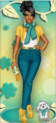 Rockin'+The+Yellow!+by+divachix.deviantart.com+on+@DeviantArt