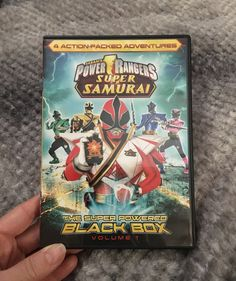 Saban's Power Rangers Super Samurai The Super Powered Black Box-Volume 1 PLEASE NOTE: not rated Power Rangers Dvd, Power Rangers Samurai, Black Box, Super Powers, Note, Products, Gadget