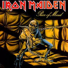 Iron Maiden: Pice of Mind (1983) - arte: Derek Riggs