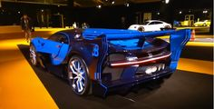 The Engine Sound Of Bugatti Vision Gran Turismo Is Pure Eargasm The Bugatti Vision Gran Turismo concept car was presented at last year's Frankfurt Auto Showroom, impressing with its loud working engine. The brand even presented a short movie, revealing the entire power of the concept's engine.  Bugatti Vision Gran Turismo is a car stolen from the Gran...