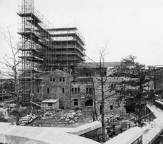 Irving Underhill (d. 1960) The Cloisters construction photo album, 1938. Cloisters Archives Collection. The Metropolitan Museum of Art, New York. Cloisters Library and Archives (b16667086) #Cloisters