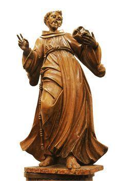 Francesco d'Assisi Aleijadinho, BrazilIan sculptor and architect (1730-1814)