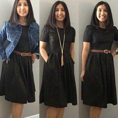 Classic Black Amelia - so many ways to wear it!