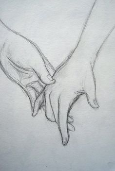 Drawing of holding hands...awwwwww