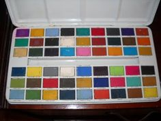 Paints in a tin....loved these...so many colors....lol...