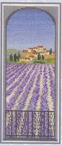 not a free chart, but so typical of Spanish lavender fields..I had to pin it.