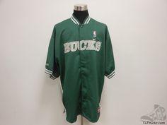 Men's Apparel : Milwaukee Bucks Warm Up Shirt #MilwaukeeBucks