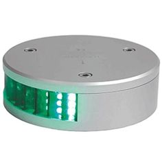 Lopolight Green Starboard LED Navigation Light - 2nm - Round f/Vessels 39-164