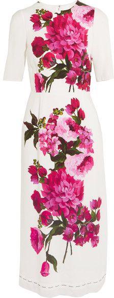 de0671ac 103 Best Dolce & Gabbana images | Dolce & Gabbana, Tulips, Crepe dress