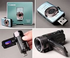love! mini camera attached to a flash drive. small storage but would be easy to carry around all the time...