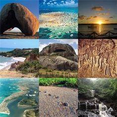 PARAÍBA - Archaeological sites:  In Paraíba, there are over 230 archaeological sites, 180 of them are in the counties of Boqueirão, Ingá, Campina Grande and Cabaceiras.