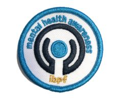 Mental Health Awareness Patch At Home - International Bipolar Foundation
