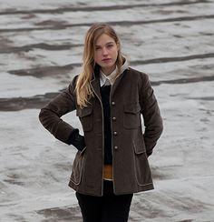 Westcott jacket. Available custom-made. http://katherinehooker.com/catalog/winter-collection/westcott/