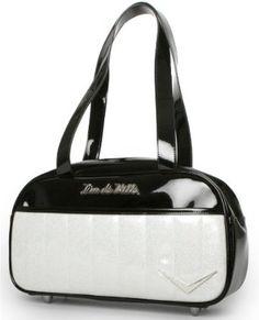 """Lux De Ville """"Cruiser"""" Tote Retro Rockabilly Handbag Vintage Style Purse $71.99"""