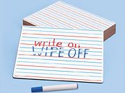 Learn to Print Write & Wipe Board