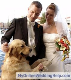 Having your dog or other pet in the wedding sounds like a perfect way to show he is part of the family. And he can, but it requires careful planning. Sherry Suhosky, a professional pet sitter, gives tips here: http://www.huffingtonpost.com/sherry-suhosky/wedding-planning_b_1468638.html