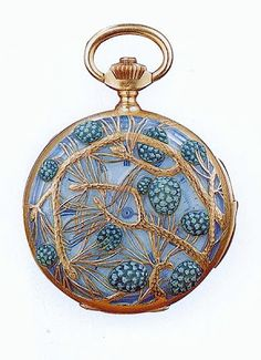 Art Nouveau Designer Rene Lalique. Jewelry
