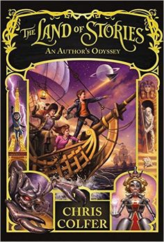 Amazon.fr - The Land of Stories: An Author's Odyssey - Chris Colfer - Livres