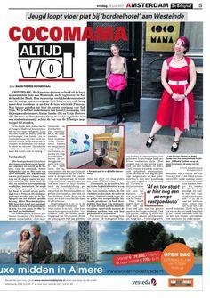 Newspaper De Telegraaf, June 2011