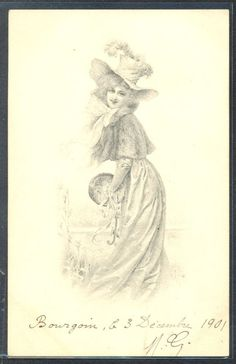 US $9.99 Used in Collectibles, Postcards, Artist Signed: