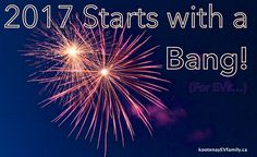 2017 starts with a bang! Leaf Electric Car, Electric Cars, Blog Planning, Nissan Leaf, Bangs, Number, Events, Posts, Thoughts