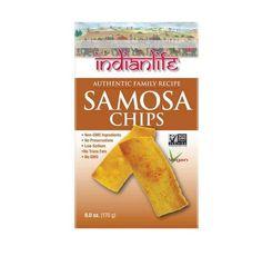 Indian Life Foods Chips, Samosa (12x6 Oz)