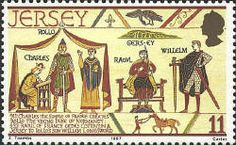 ... the Simple of France creates Rollo the Viking Duke of Normandy.