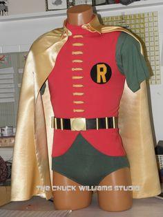 Original Robin Costume worn by Burt Ward on the Batman TV Series Batman Cast, Batman Tv Show, Batman Tv Series, Dc Costumes, 1960s Costumes, Super Hero Costumes, Batman 1966, Batman And Superman, Batman Robin
