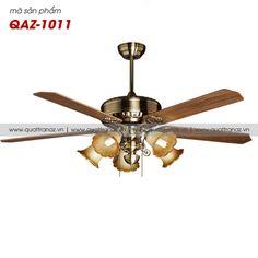 Quạt trần đèn trang trí cao cấp Mountain Air QAZ-1011