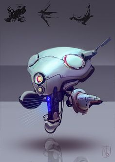 Scout bot 1 by ~Trufanov on deviantART via PinCG.com
