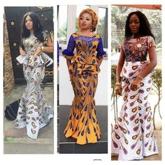 Same Ankara Print With Different styles