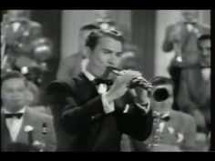 """Artie Shaw in the Movie """"Dancing Co-eds"""""""