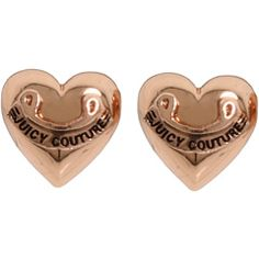 Juicy Couture - Puffed Heart Stud Earring