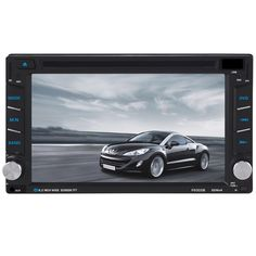 89.04$  Buy now - http://alif83.worldwells.pw/go.php?t=32727159902 - Universal 6.5 Inch Double 2DIN Touch Car Stereo CD DVD Player Bluetooth USB SD AM FM TV Radio