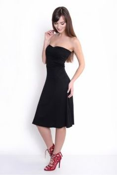 Čierna sukňa/šaty 2v1 OX8205