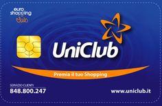 UniClub è l'esclusivo programma fedeltà che attraverso la UniClub card ti permette di accumulare punti e ricevere meravigliosi regali facendo acquisti presso gli Associati e i Partner Online.