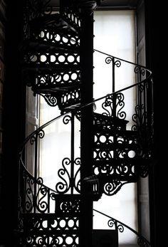 *Spiral Staircase - Dublin Library