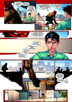 Jason Todd and Tim Drake  Jason's story makes me sad, he just needs a good hug from batman. And maybe a kick in the butt every now and then. :)