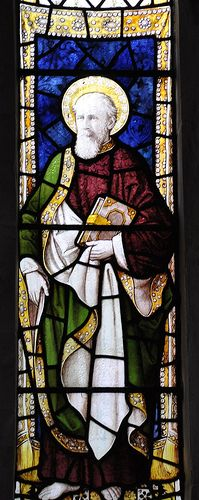 Shipton Oliffe The east window has stained glass by Burlison and Grylls
