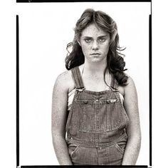 "Sandra Bennett, 12 years old - ""In the American West"" series - Richard Avedon, Rocky Ford, Colorado - 1980 Richard Avedon Portraits, Richard Avedon Photography, Sophia Loren, Famous Photographers, Portrait Photographers, Book Photography, Fashion Photography, White Photography, Diane Arbus"