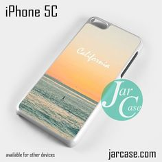 Caifornia Beach Phone case for iPhone 5C and other iPhone devices