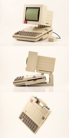 Here's the latest in my series of retro computers recreated in Lego. #LEGO #Apple #retro #vintage